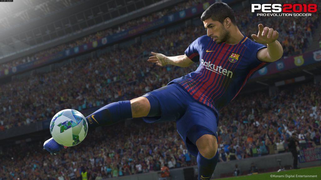 Pro Evolution Soccer 2018 free mac