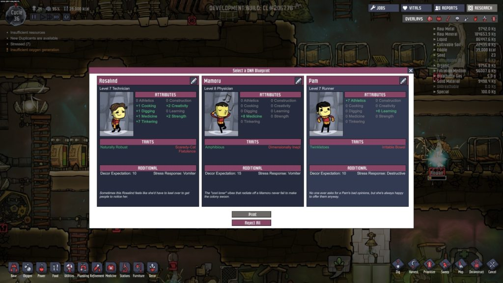 Oxygen Not Included mac for free